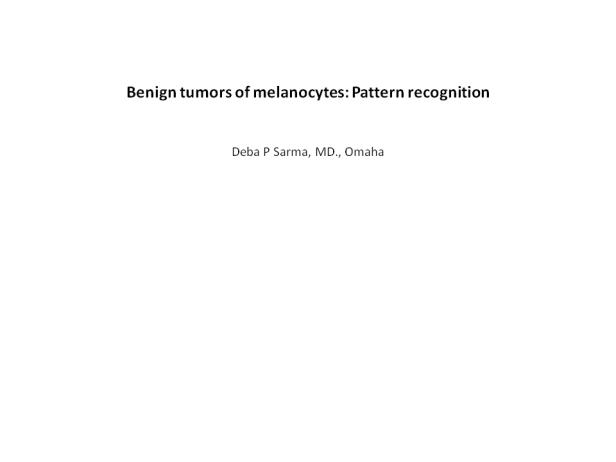 Benign melanocytic tumors, pattern recognition. ppt (6)